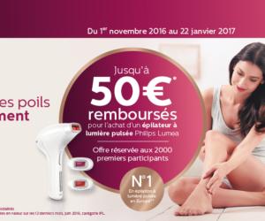 ODR 50€ Philips Lumea Noel 2016